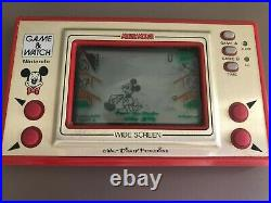 Nintendo Game & Watch Console Mickey Mouse Good Working Condition/Retro/1981