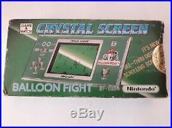 Nintendo Game & Watch Crystal Screen BF-803 Balloon Fight