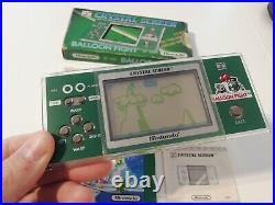 Nintendo Game & Watch Crystal Screen Balloon Fight BF 803 Japan 1986