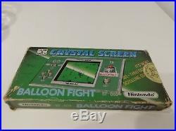 Nintendo Game & Watch Crystal Screen Balloon Fight BF 803 Japan 1986 RARE
