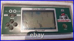 Nintendo Game & Watch Crystal Screen Balloon Fight BF-803 rare 1986