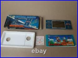 Nintendo Game & Watch Crystal Screen Super Mario Bros Boxed Rare Retro and LCD