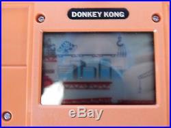 Nintendo Game Watch DONKEY KONG DK-52 (1982) ISTRUZIONI IN ITALIANO