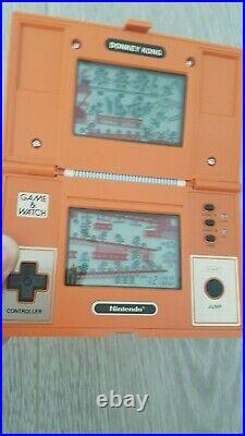 Nintendo Game & Watch DONKEY KONG Multi screen, Dk-52, rare, 1982