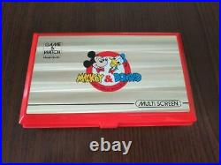 Nintendo Game & Watch Disney Mickey & Donald Multi Screen Boxed Limited
