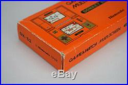 Nintendo Game & Watch Donkey Kong Boxed Multi Screen DK-52 LCD Handheld and