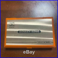 Nintendo Game & Watch Donkey Kong DK-52 Orange Console F/S DHL Used Tasted
