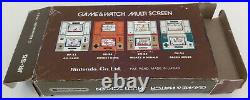 Nintendo Game Watch Donkey Kong Ii. Jr-55 Boxed & Papers. Extra Fine Condition
