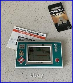 Nintendo Game & Watch Donkey Kong JR 1982 Handheld Game D-J 101 Tested & Works