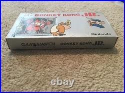 Nintendo Game&Watch Donkey Kong Jr. Boxed