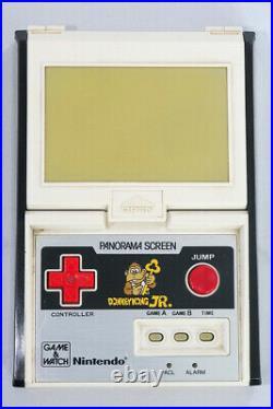 Nintendo Game & Watch Donkey Kong Jr. CJ-93 Panorama 1983