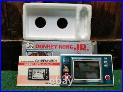 Nintendo Game & Watch Donkey Kong Jr. DJ-101 COMPLETE CIB Used Works