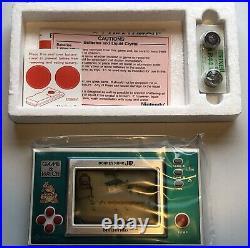 Nintendo Game & Watch Donkey Kong Jr Dj-101 1982 Very Rare New Sealed Mint Box
