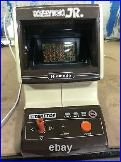Nintendo Game & Watch Donkey Kong Jr. Tabletop Vintage CJ-71