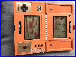 Nintendo Game & Watch Donkey Kong Multi Screen retro console DK52 Very Good Cond