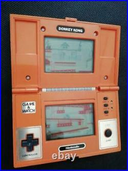 Nintendo Game Watch Donkey Kong Rare Maker Condition Acceptable Rare Maker USED