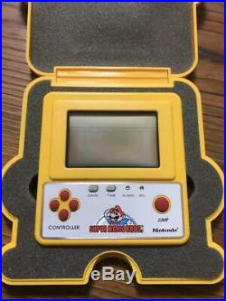 Nintendo Game & Watch F-1 Race Prize Super Mario Bros From Japan