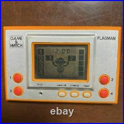 Nintendo Game Watch Flagman Handheld Console Vintage Rare FS