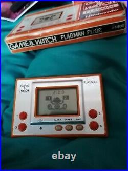 Nintendo Game & Watch Flagman Jeux Électroniques de Ppoche