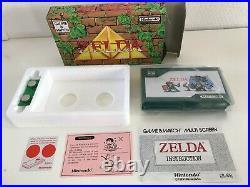 Nintendo Game & Watch G&W ZELDA, complete, wie neu / excellent condition LOOK