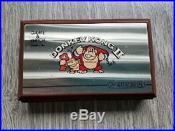 Nintendo Game & Watch Game COMPLETE & IN BOX DONKEY KONG 2 37652885 INCL BAT