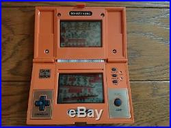 Nintendo Game & Watch Game COMPLETE & IN BOX DONKEY KONG 35004262 INCL BAT