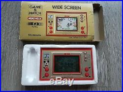 Nintendo Game & Watch Game IN BOX MICKEY MOUSE- 09021588 INCLUDES 2 NEW BATT