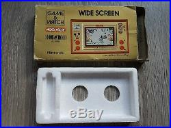 Nintendo Game & Watch Game IN BOX MICKEY MOUSE- 11565608 INCLUDES 2 NEW BATT