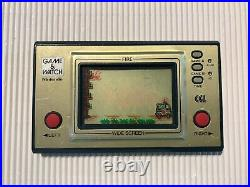 Nintendo Game & Watch Green Fire in CGL version, extremly rare, only 1 so far