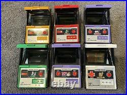 Nintendo Game & Watch Handheld Consoles Entire Set! Donkey Kong, Mario, 61 Games