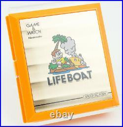 Nintendo Game & Watch Life Boat Multi Screen OVP CiB #2