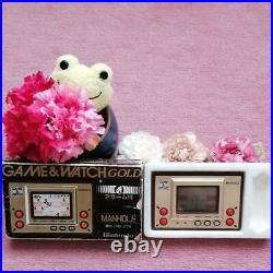 Nintendo Game & Watch MANHOLE MH-06 1981 Retro Rare #48