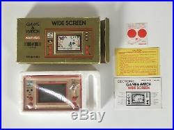 Nintendo Game & Watch MICKEY MOUSE 1981 Wide Screen (MC-25) komplett OVP