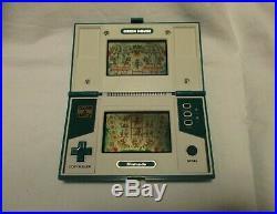 Nintendo Game & Watch MULTI SCREEN Green House Japan