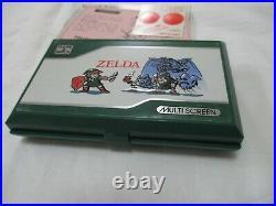 Nintendo Game & Watch MULTI SCREEN ZELDA ZL-65 New old stock Japan