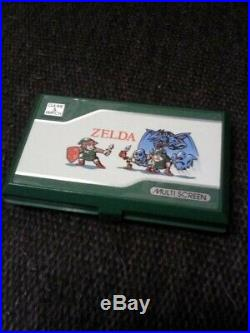 Nintendo Game & Watch MULTI SCREEN ZELDA ZL-65 with Manual Japan