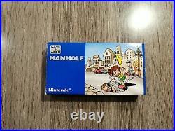Nintendo Game & Watch Manhole NH-103 NOS MINT Vintage