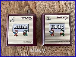 Nintendo Game & Watch Mario Bros 2 x Pokka Promo (!)