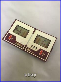 Nintendo Game Watch Mario Brothers Japan Portable Console Rare Vintage F/s Used