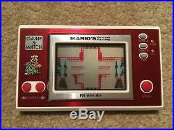 Nintendo Game&Watch Mario's Cement Boxed