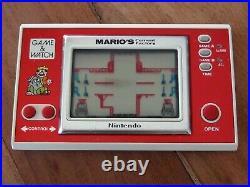 Nintendo Game & Watch Mario's Cement Factory ML-102 año 1983