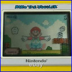 Nintendo Game & Watch Mario the Juggler MB-108 Retro Games RARE VTG Vintage