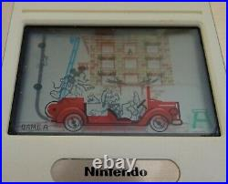 Nintendo Game & Watch Mickey & Donald Boxed Handheld Console Dm-53