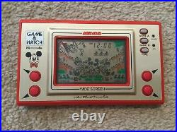 Nintendo Game&Watch Mickey Mouse Boxed