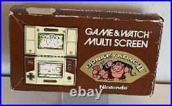Nintendo Game & Watch Multi Screen Donkey Kong 2 1983 in OVP B1111