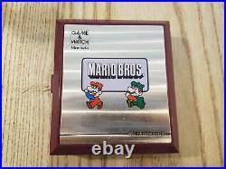 Nintendo Game & Watch Multi-Screen Mario Bros. Console Rouge (MW-56)