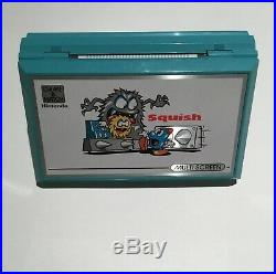 Nintendo Game & Watch Multi Screen Squish Near Mint Box Polystyrene Works Super