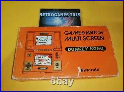 Nintendo Game & Watch Multiscreen Donkey Kong Dk-52 Boxed G&w