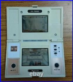 Nintendo Game & Watch OIL PANIC OP-51 MULTI SCREEN Body Only 1982 Vintage Japan