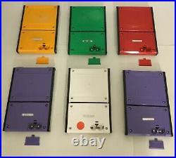 Nintendo Game & Watch Panorama All Six Models Excellent To Near Mint Work Super